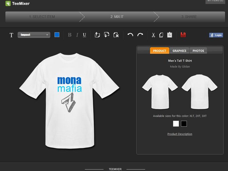 เว็บออกแบบลายเสื้อยืดออนไลน์
