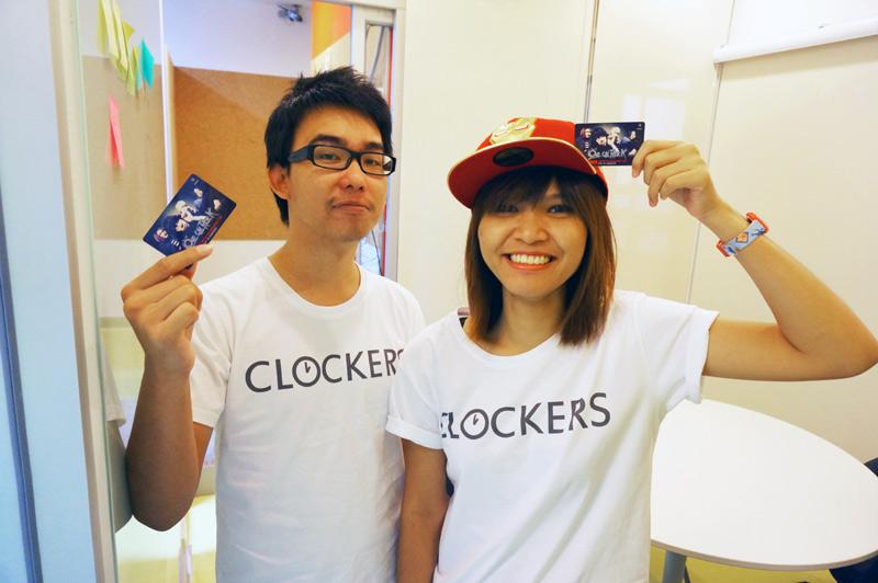 เสื้อคอนเสิร์ต clockers