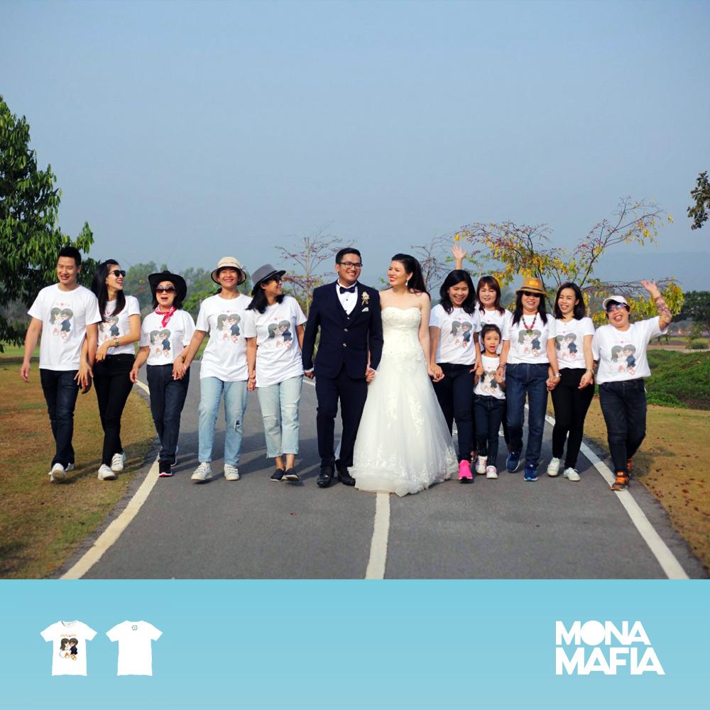 เสื้อเพื่อนเจ้าบ่าว เพื่อนเจ้าสาวงานแต่งงาน